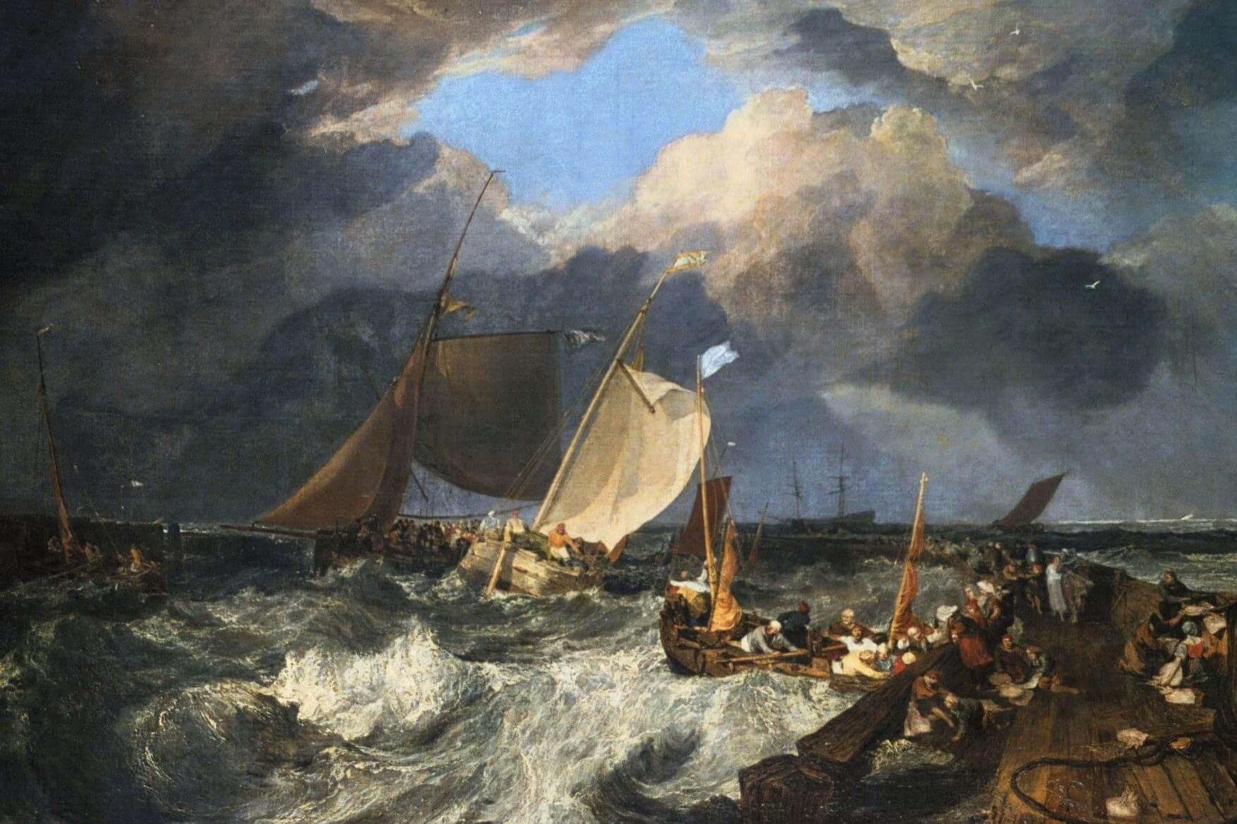 J.M.W. Turner – Calais-Pier