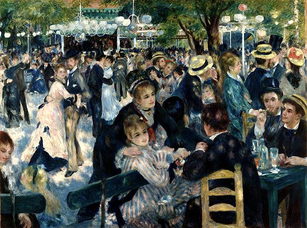 Pierre-August Renoir – DANCE AT LE MOULIN DE LA GALETTE