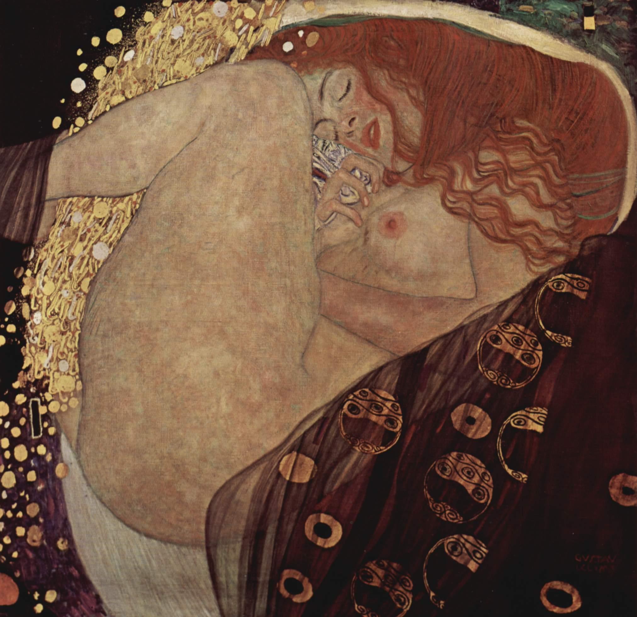 Gustav Klimt – Danae
