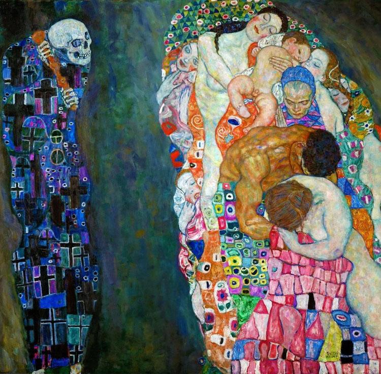 Death and Life – Gustav Klim