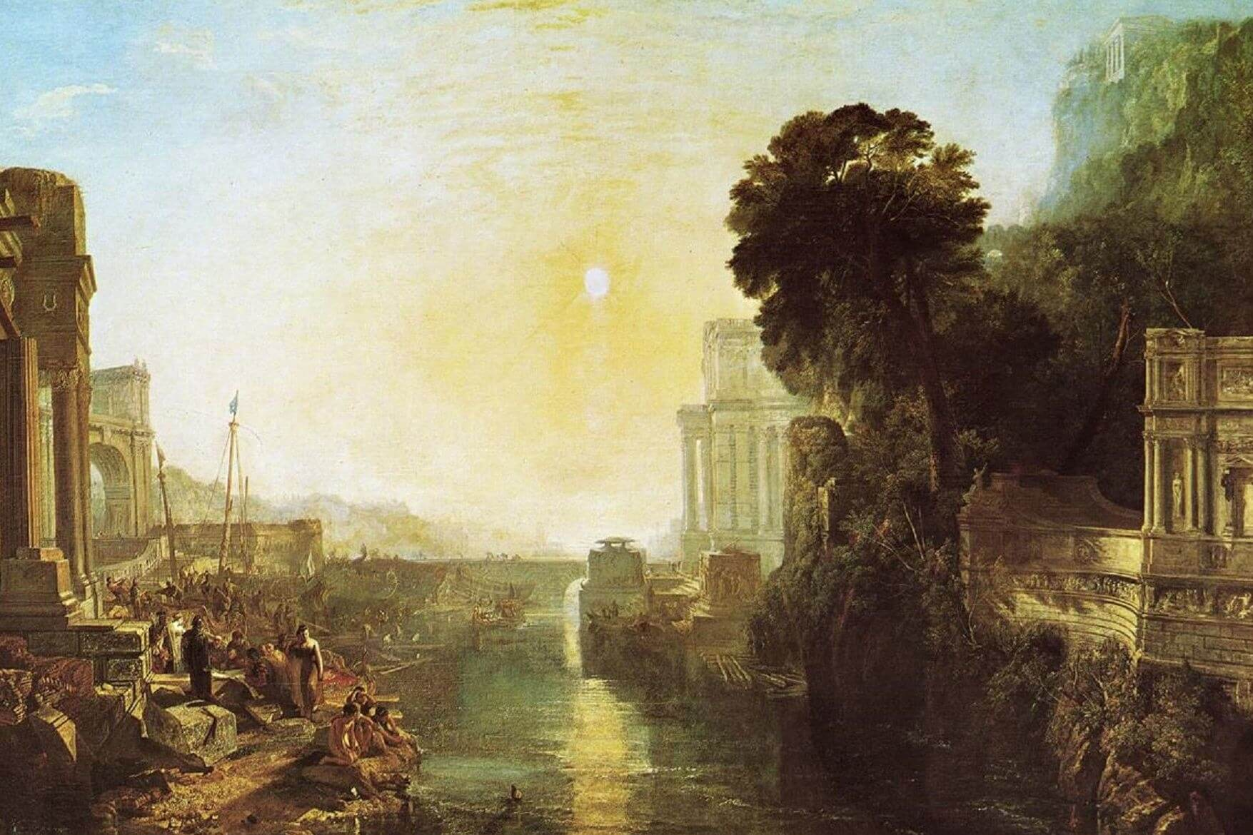 J.M.W. Turner – Dido-Building-Carthage