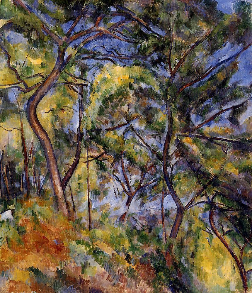 Paul Cézanne – Forest