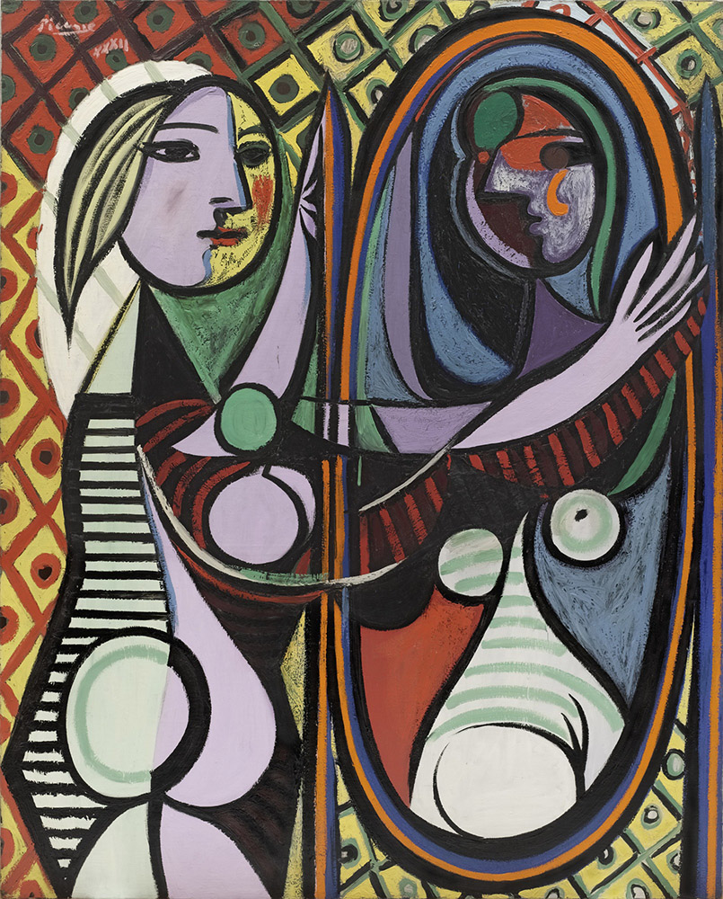 Pablo Picasso – Girl before a mirror