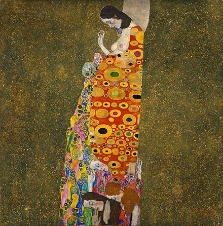 Gustav Klimt – Hope II