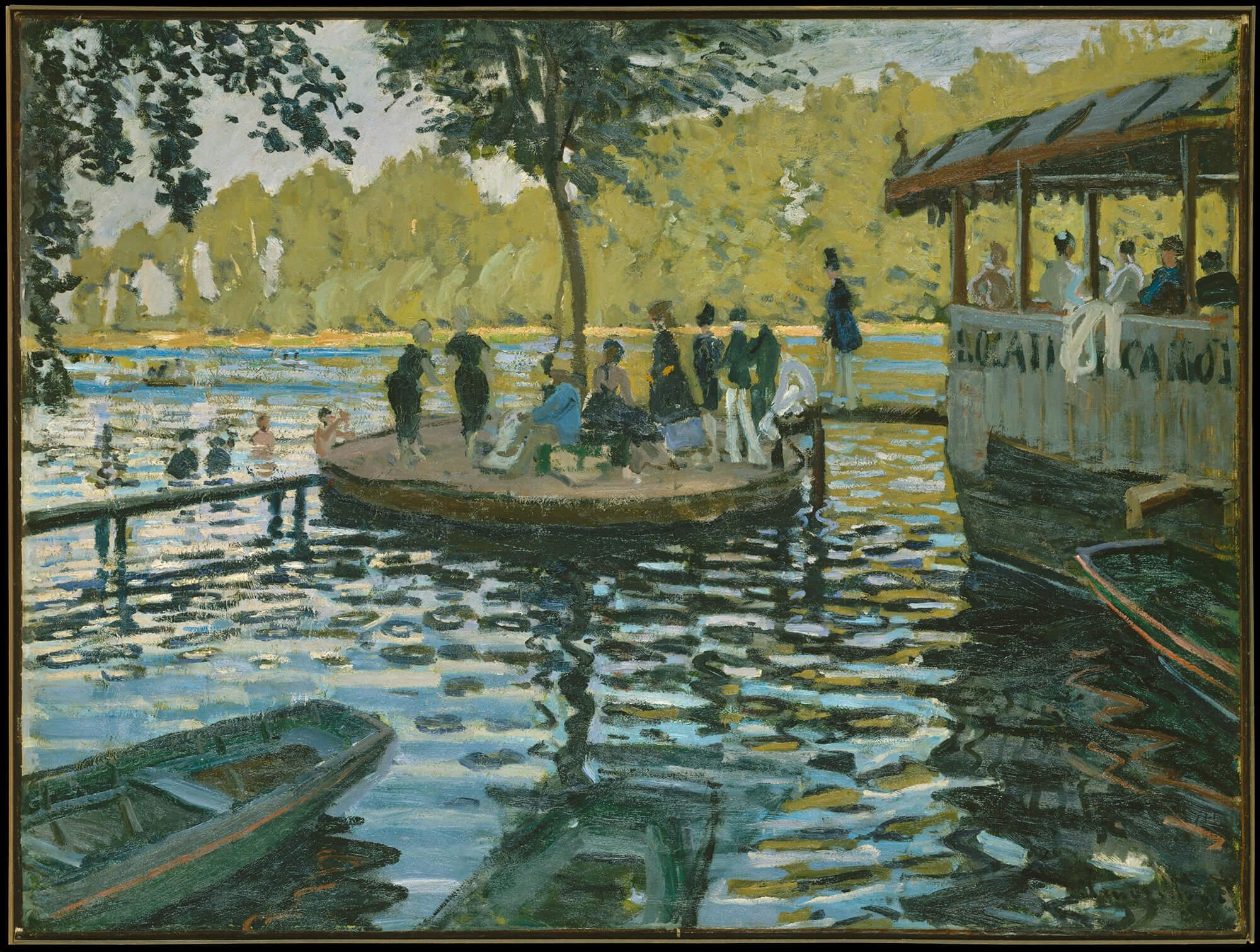 Claude Monet – La Grenouillère