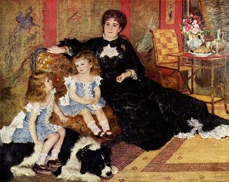 Pierre-August Renoir – MADAME GEORGES CHARPENTIER AND HER CHILDREN