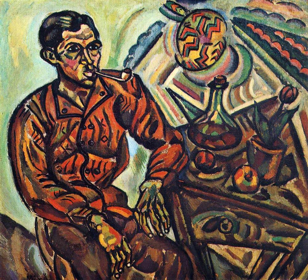 Joan Miro – PORTRAIT OF VINCENT NUBIOLA