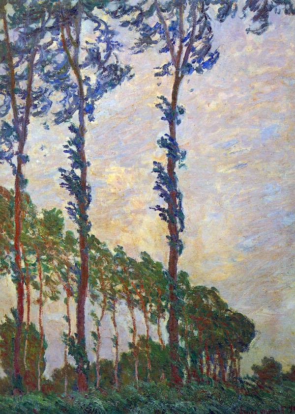 Claude Monet – Poplar series