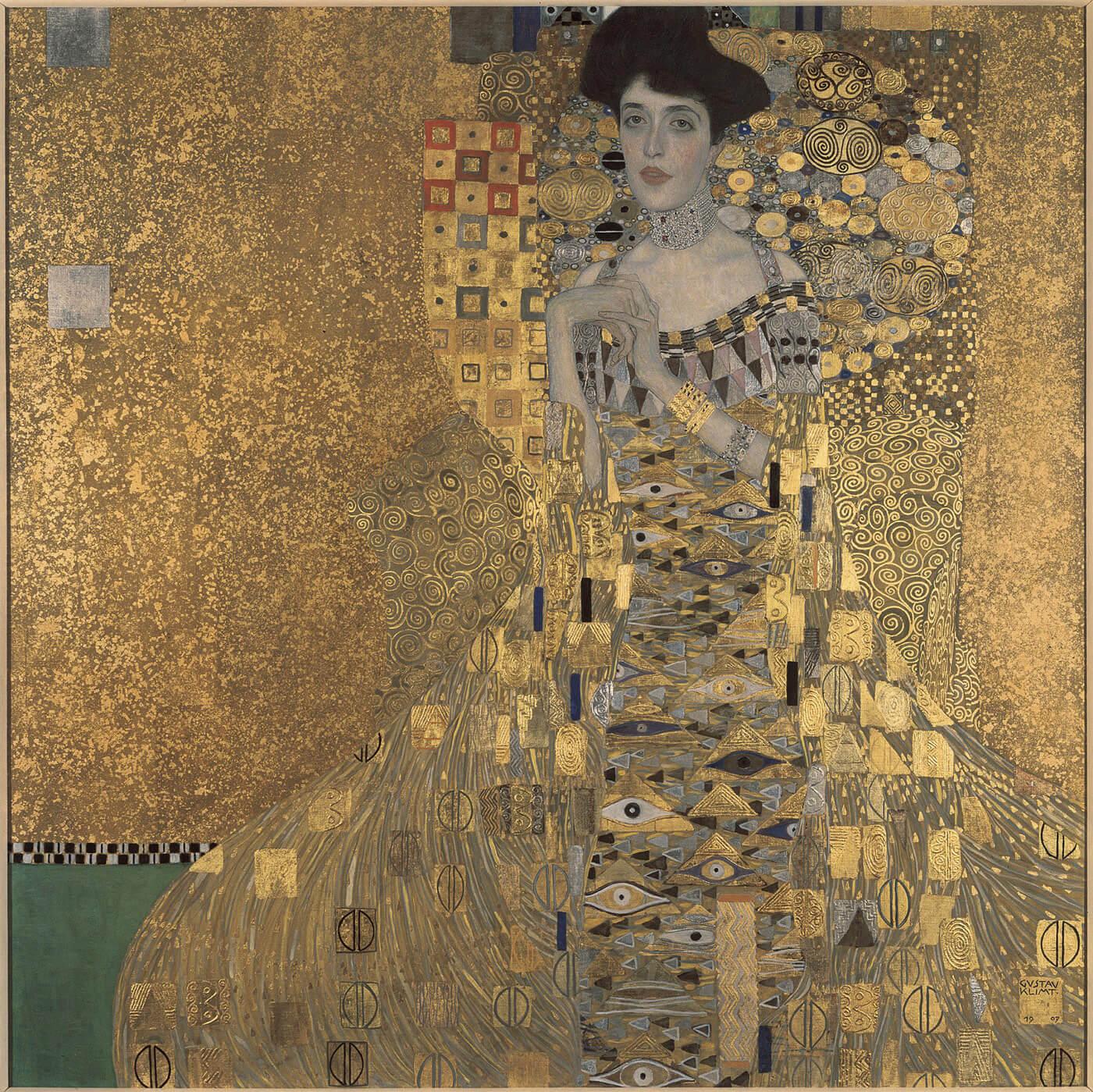 Gustav Klimt – Portrait of Adele Bloch-Bauer I