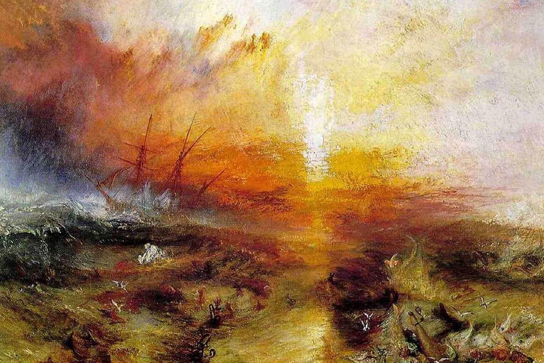 J.M.W. Turner – Slavers-Throwing-Overboard