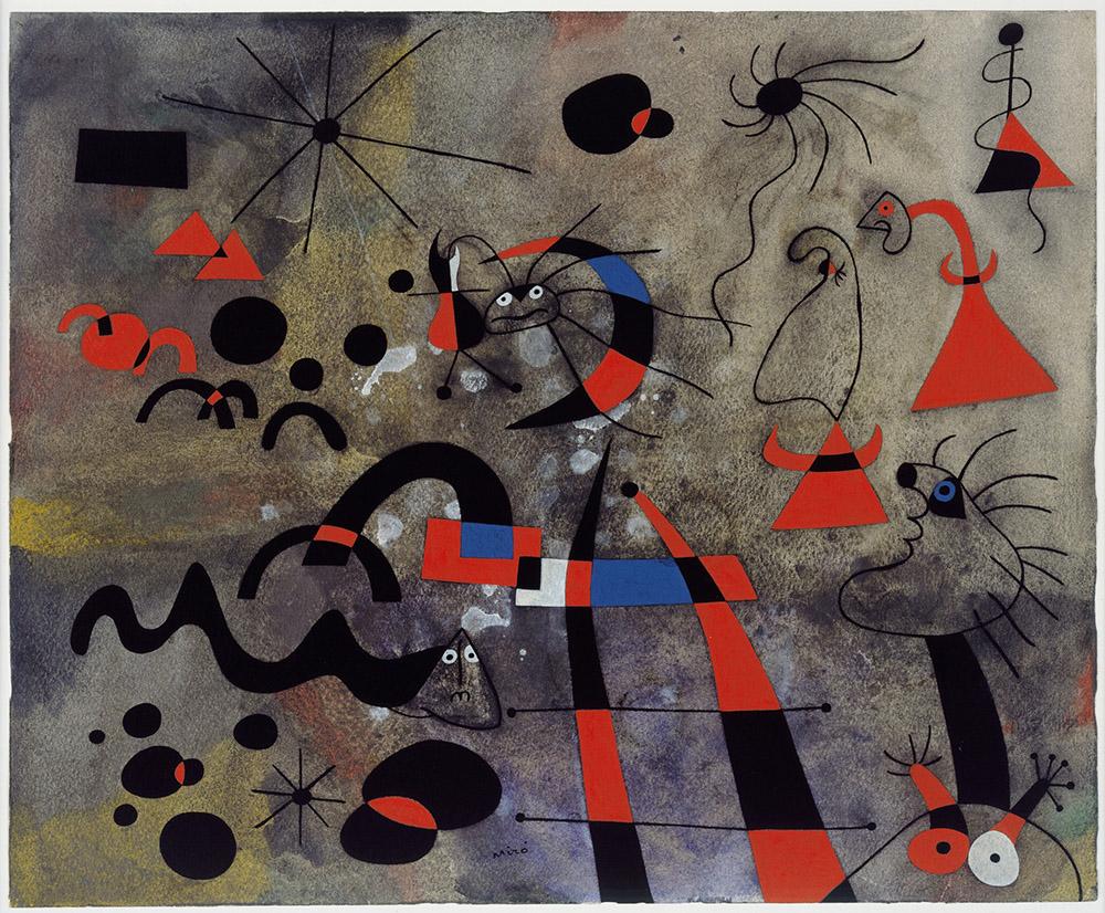 Joan Miro – THE ESCAPE LADDER