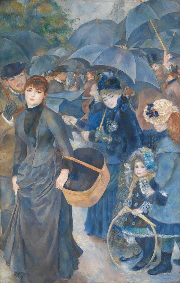 Pierre-August Renoir – THE UMBRELLAS
