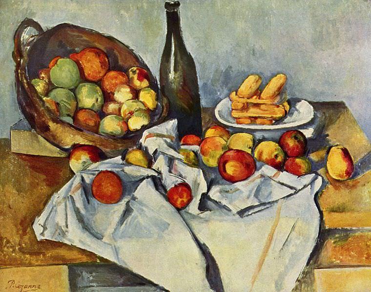 Paul Cézanne – The-Basket-of-Apples-by-Paul-Cezanne