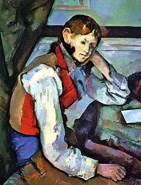 Paul Cézanne – The-Boy-in-the-Red-Vest