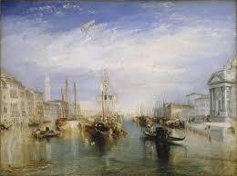 J.M.W. Turner – The Grand Canal, Venice