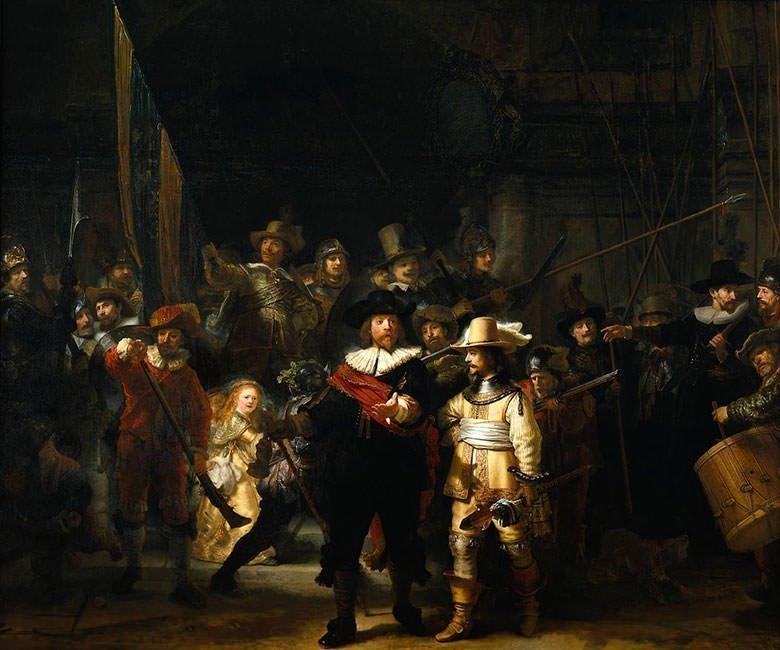 Rembrandt – The Nightwatch