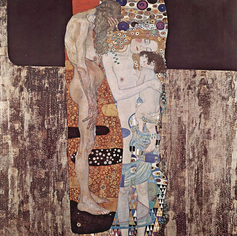 Gustav Klimt – The Three Ages of Woman