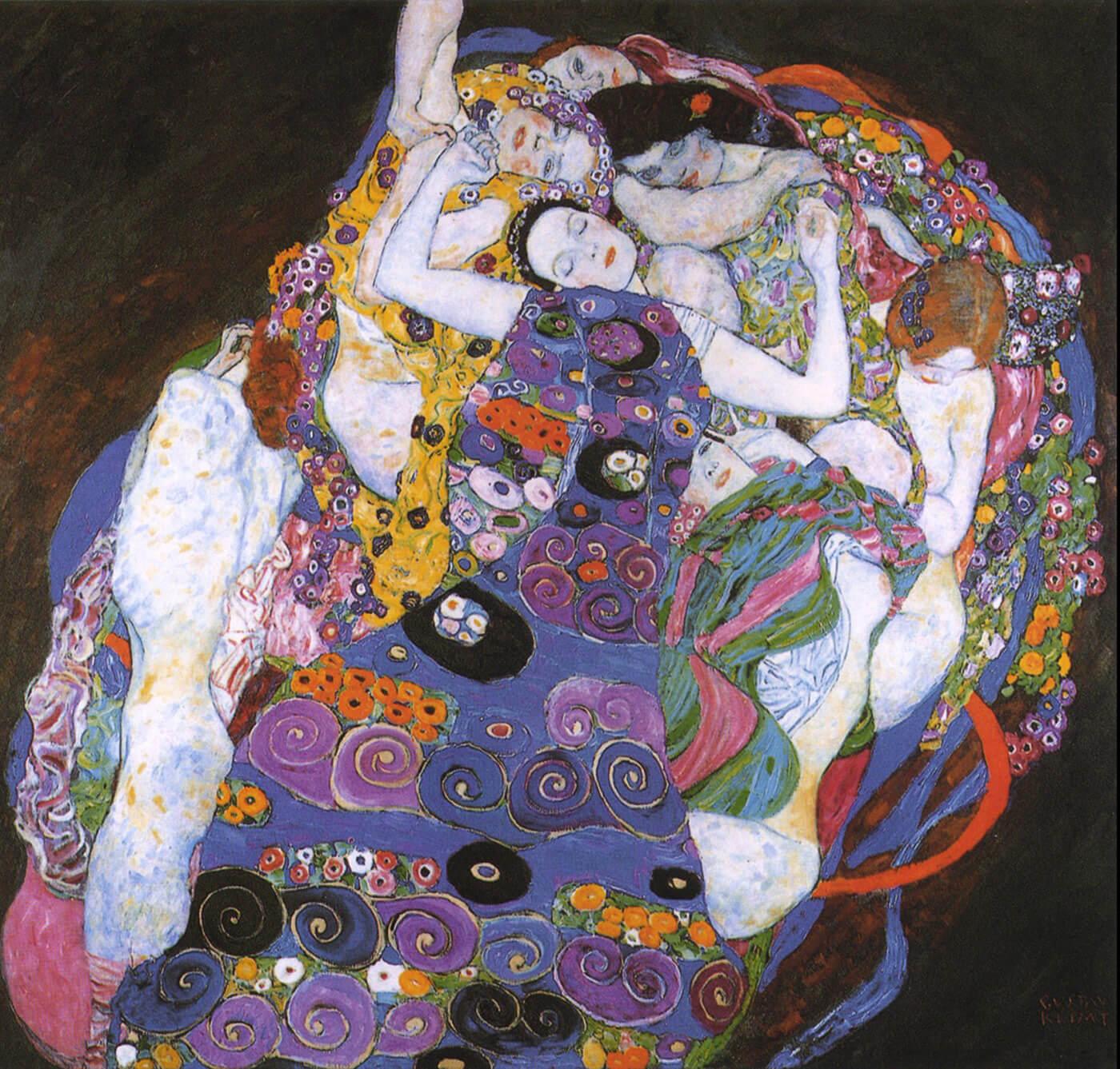 Gustav Klimt – The Virgin (Die Jungfrau)