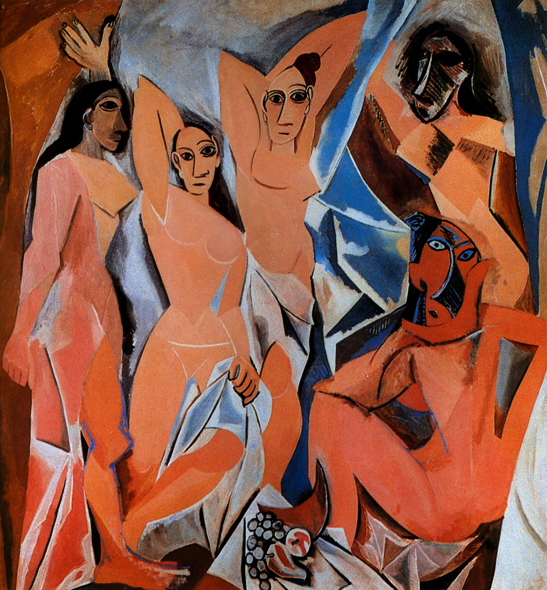 Pablo Picasso – The young ladies of avignon