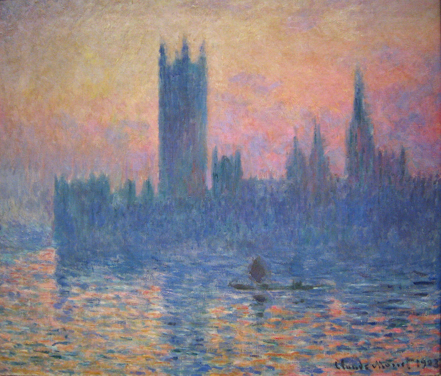 Claude Monet – The_Houses_of_Parliament,_Sunset