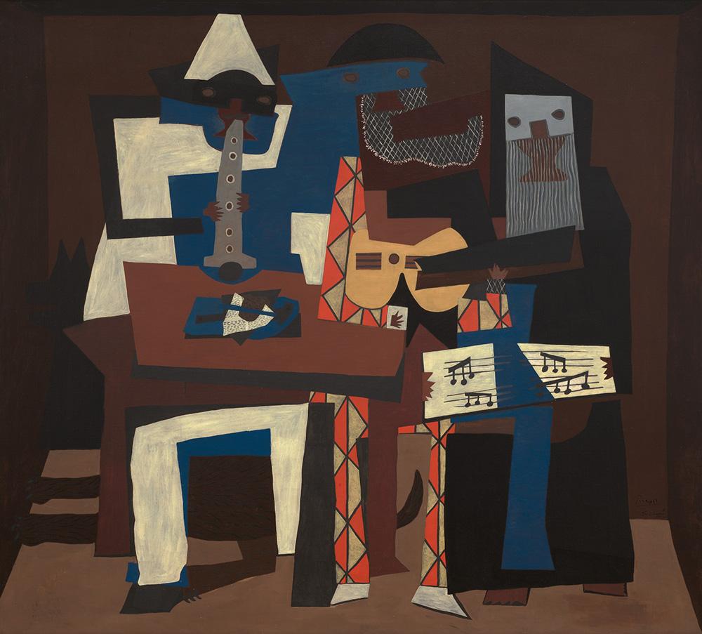 Pablo Picasso – Three musicians