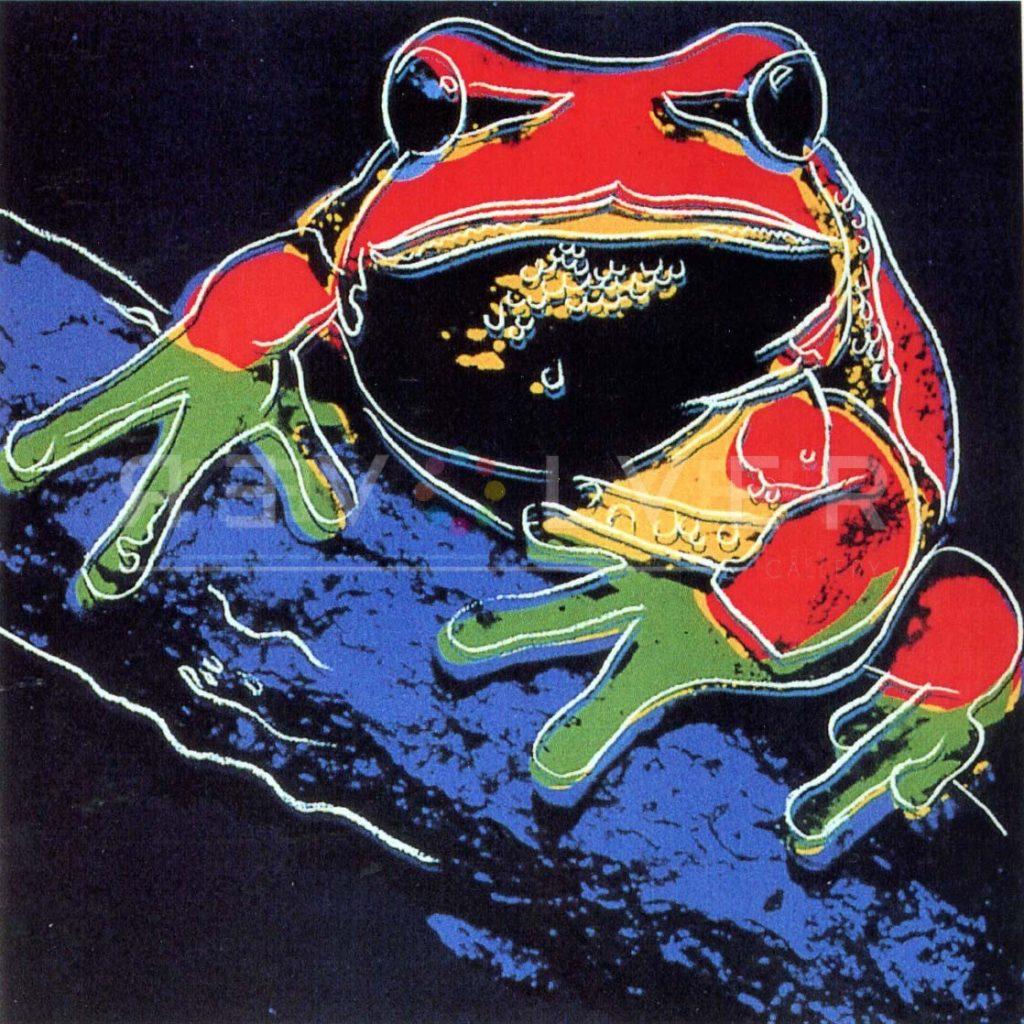 Andy Warhol – Tree Frog