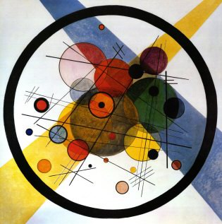 Wassily Kandinsky – circles-in-circle