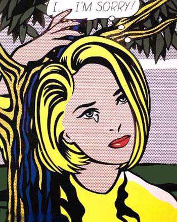 Roy Lichtenstein – im-sorry