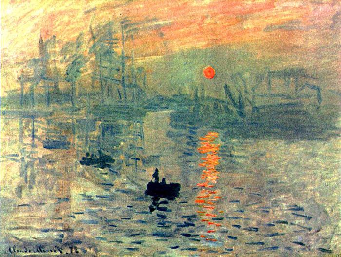 Claude Monet – Impression, sunrise