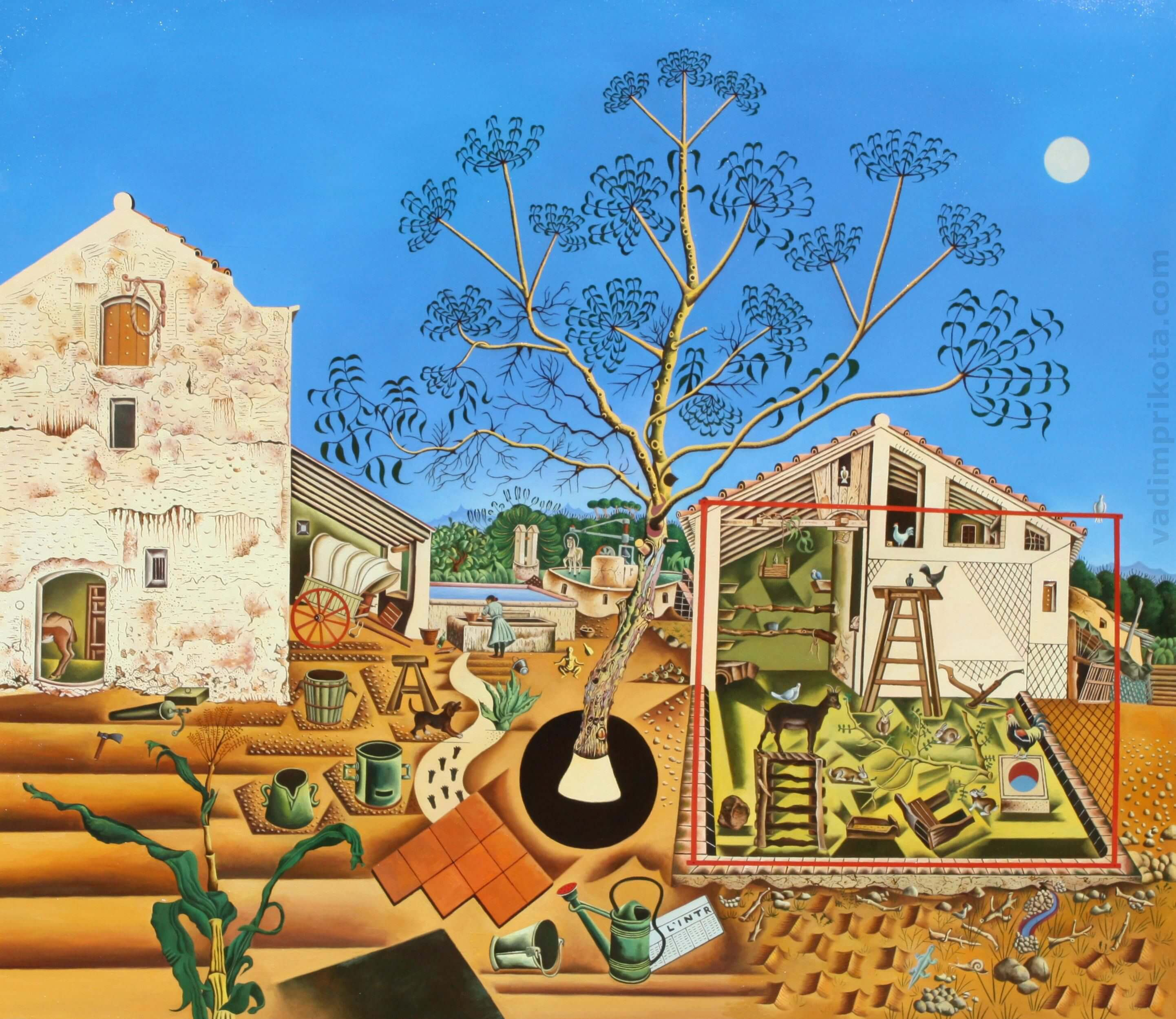 Joan Miro – the farm