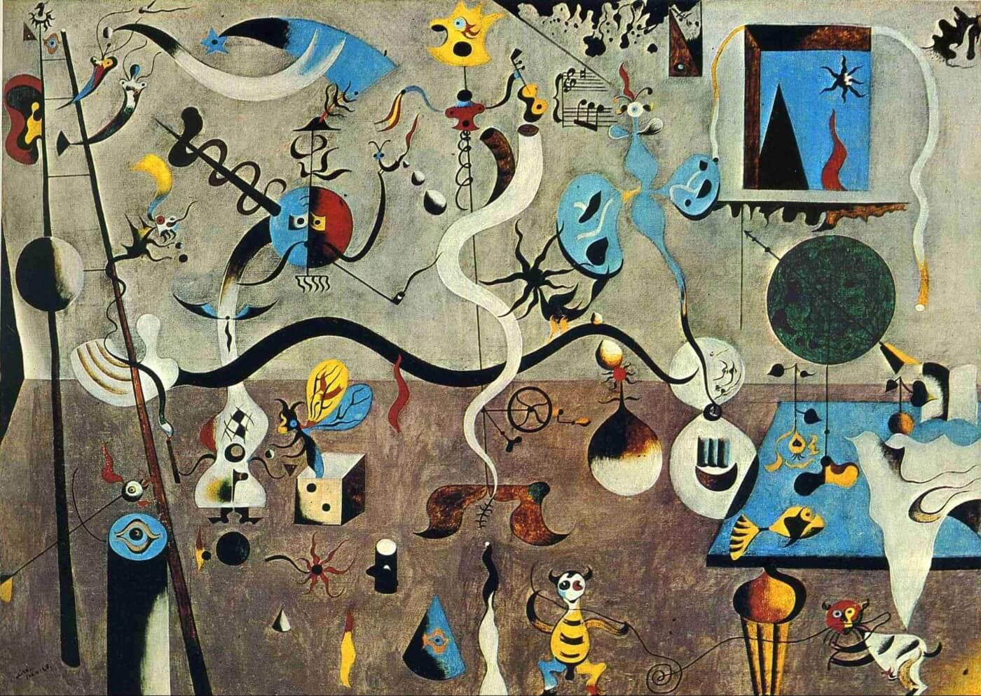 Joan Miro – the harlequins festival