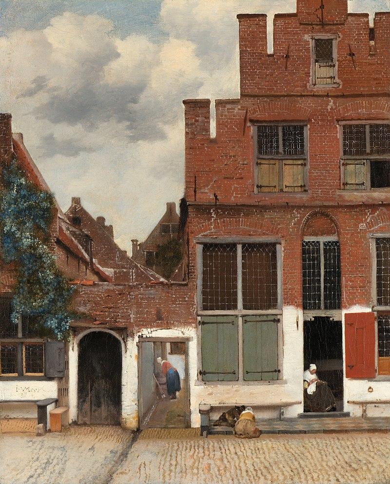Jan Vermeer van Delft – the-little-street