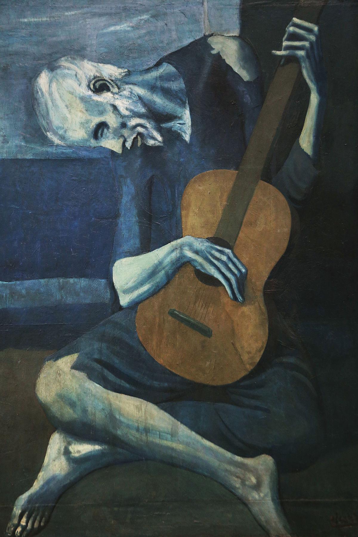 Pablo Picasso – the old guitarist