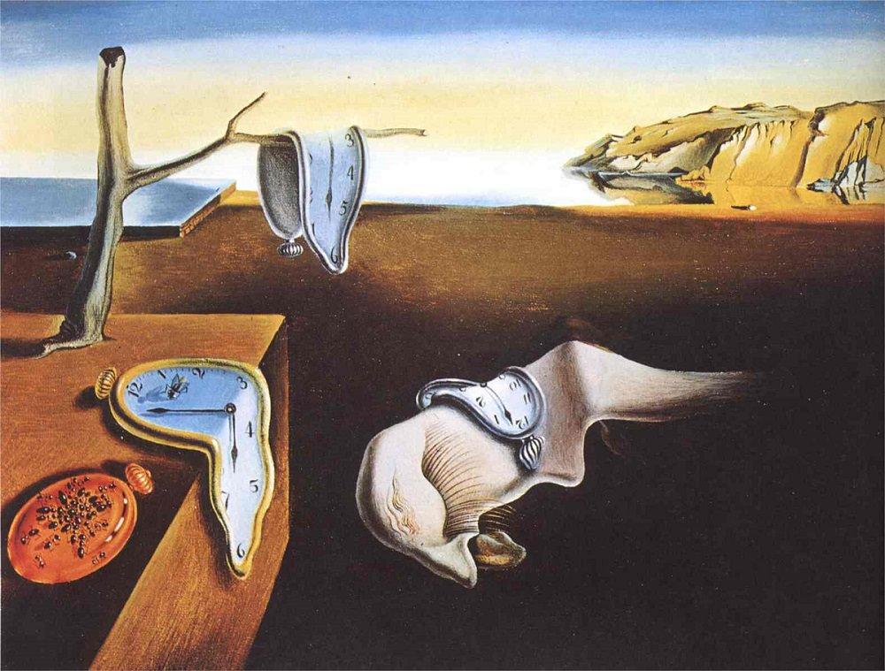 Salvador Dali – the-persistence-of-memory